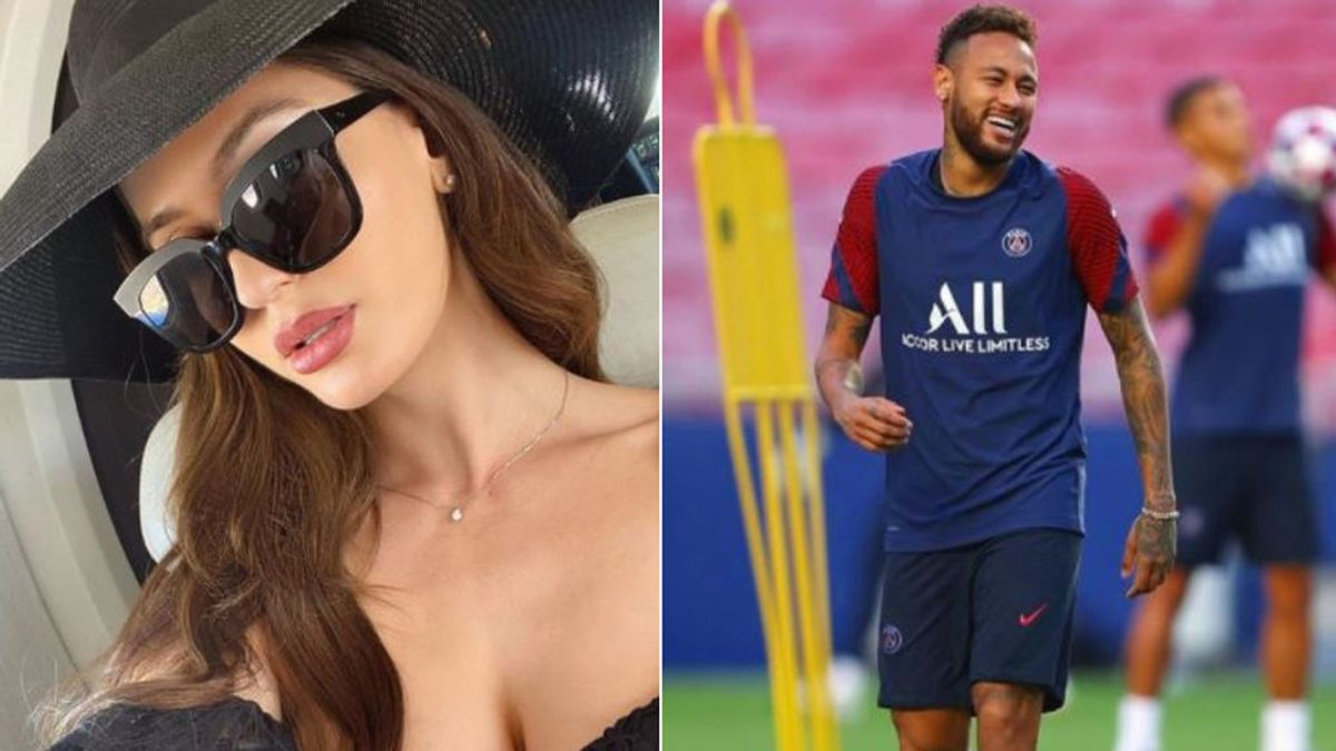 """Neymar confirma su noviazgo con Natalia  Barulich, la ex de Maluma: """"Linda"""""""