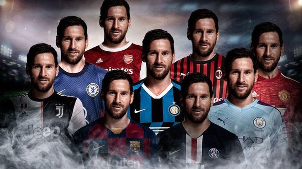 Camisetas de Messi