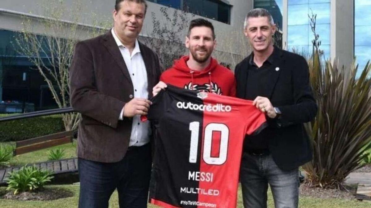Messi se reunió en secreto con Newell's el pasado mes de marzo en Barcelona