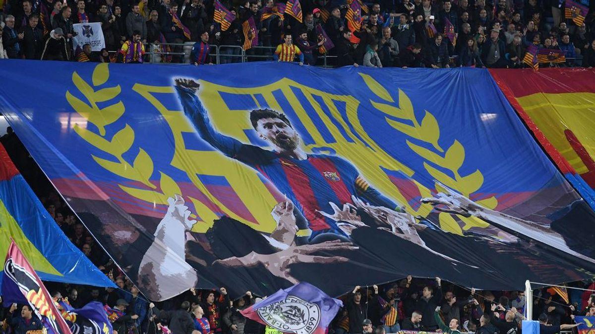 Un grupo de aficionados del Barça asaltan el Camp Nou con Bartomeu dentro