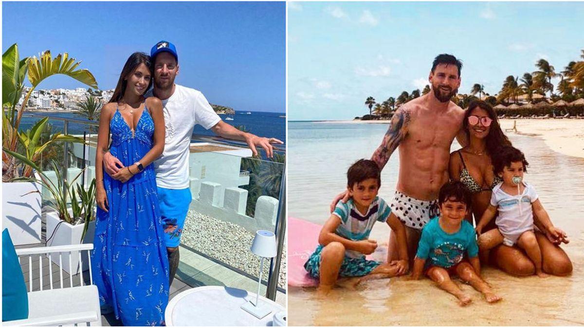 Los planes de Familia que convencieron a Messi para salir de Barcelona
