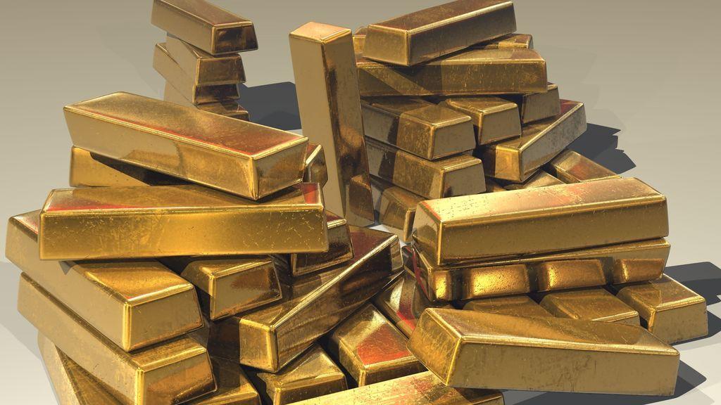 El valor del oro se determina por su peso en onzas troy.