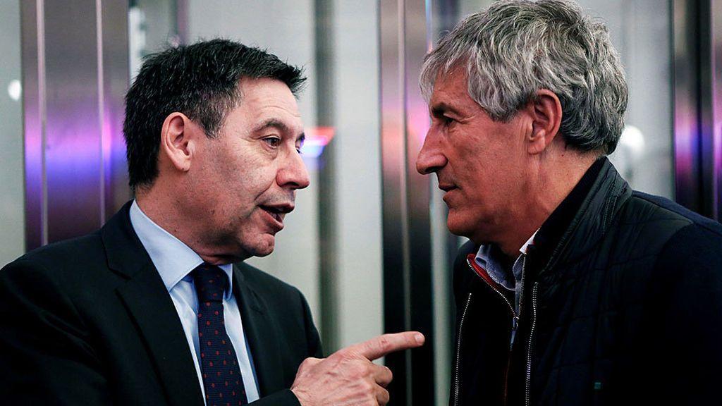 Setién también envía un burofax al Barça porque aún no le ha sido notificado de su despido