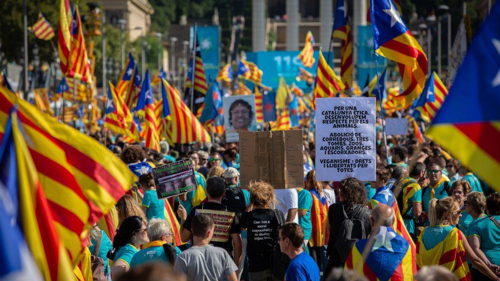 Diada de Cataluña 2020: los organizadores mantienen 90 puntos de movilizaciones pese a las advertencias de los expertos