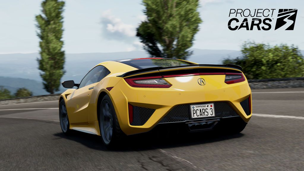 Acura. Project Cars 3