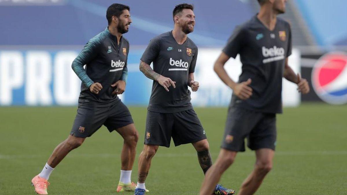 Messi se presentará al próximo entrenamiento del Barça a la espera de que el City cierre su fichaje en Barcelona