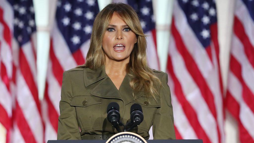 Melania Trump centra su mensaje en los afectados por el coronavirus, las mujeres y la justicia racial