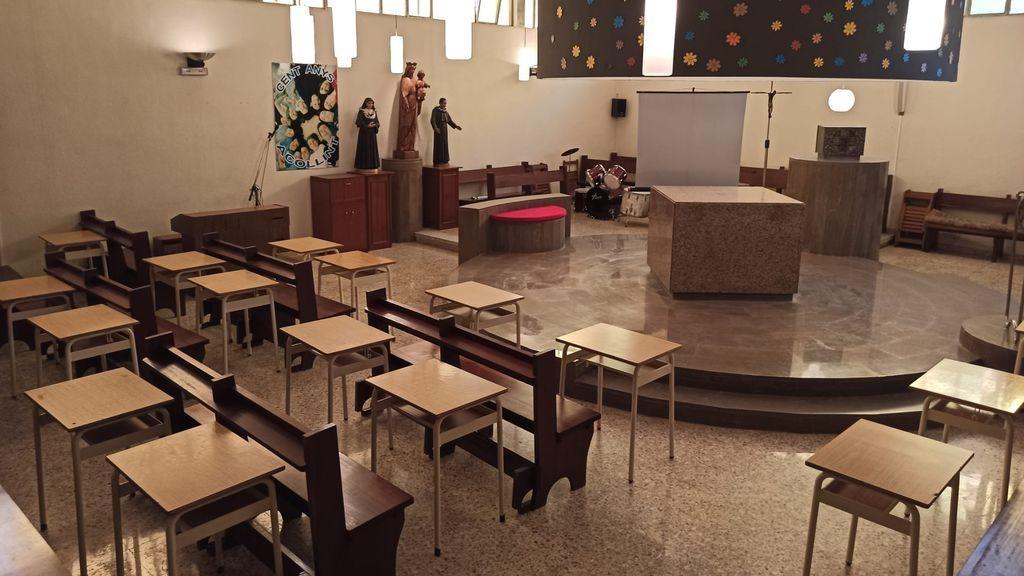 Un aula en una capilla y otras ideas ante la vuelta al cole del COVID