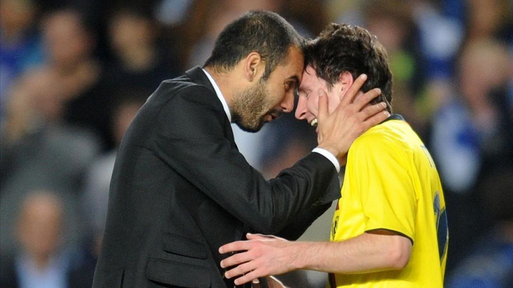 Messi exige blindar a Guardiola en el banquillo con un nuevo contrato para fichar por el City