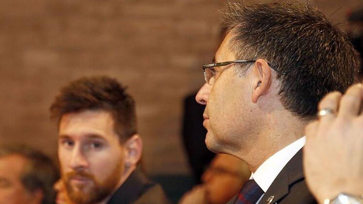 Bartomeu dispuesto a dejar la presidencia si Messi se compromete a seguir en el Barça
