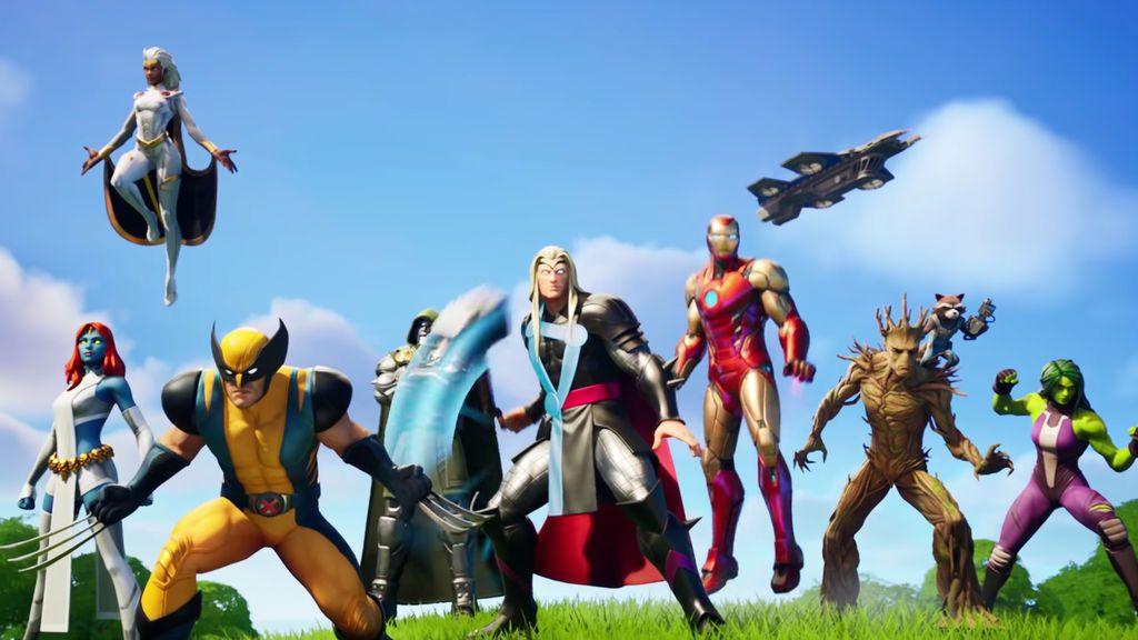 Fortnite presenta la Temporada 4, Guerra en el Nexus, junto a Marvel