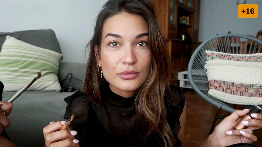 Estela Grande enseña sus trucos para tener ojos de gato y labios voluminosos sin cirugía (1/2)