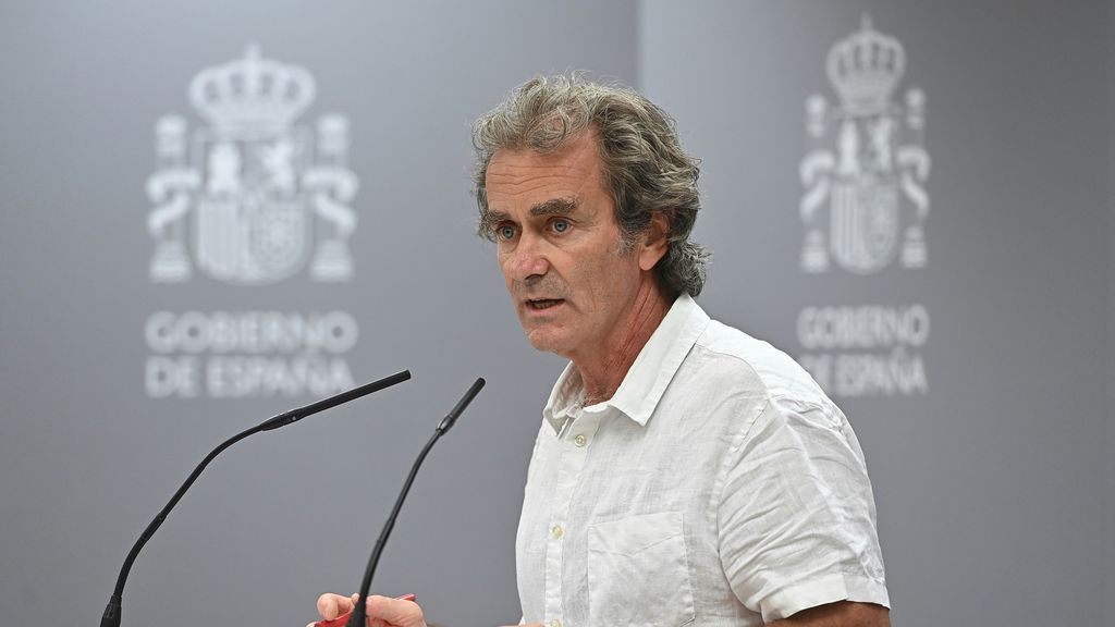 """Simón defiende la vuelta al cole presencial: """"La trasmisión comunitaria no implica que no se puedan abrir colegios"""""""
