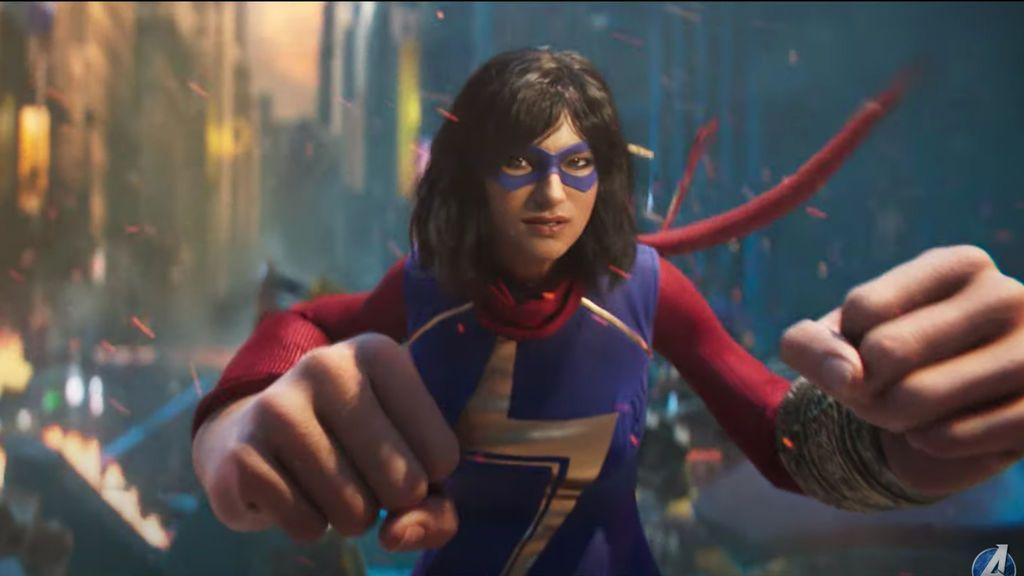 Ms. Marvel se une a los Vengadores