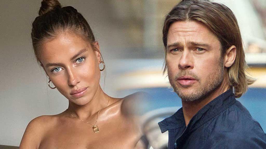 Brad Pitt tiene novia: Nicole Poturalski, la modelo alemana que está pasando con él las vacaciones en Francia