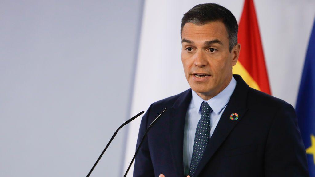 El Pedro Sánchez dará el lunes una conferencia titulada 'España puede' para pedir la unidad de toda la sociedad española
