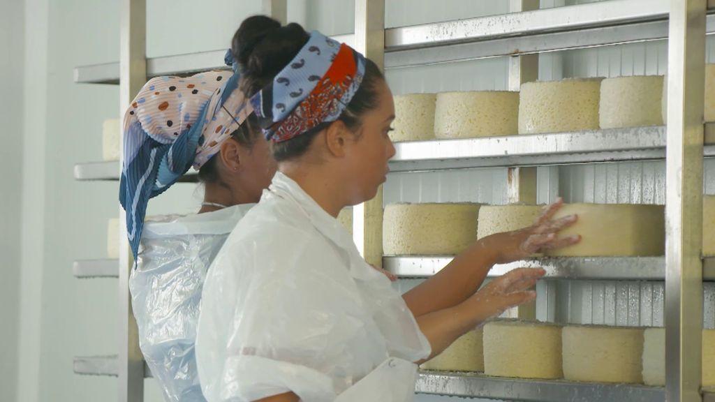 Así se hace el queso cabrales