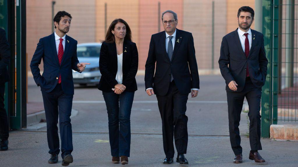 Los rebrotes en Cataluña llegan al Govern de Torra