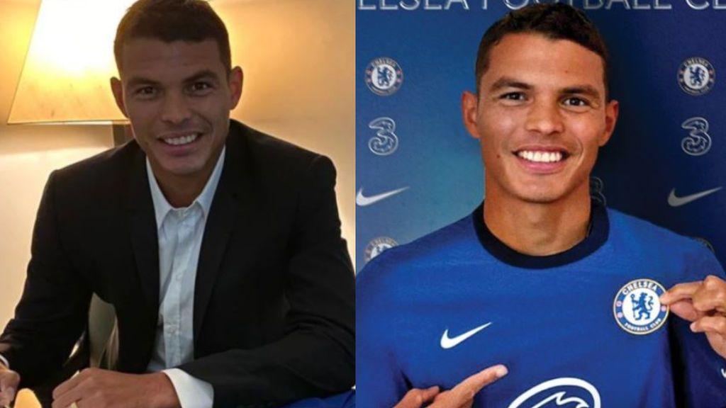 """El Chelsea refuerza su defensa con la llegada de Thiago Silva, que llega gratis del PSG: """"Vengo para luchar"""""""