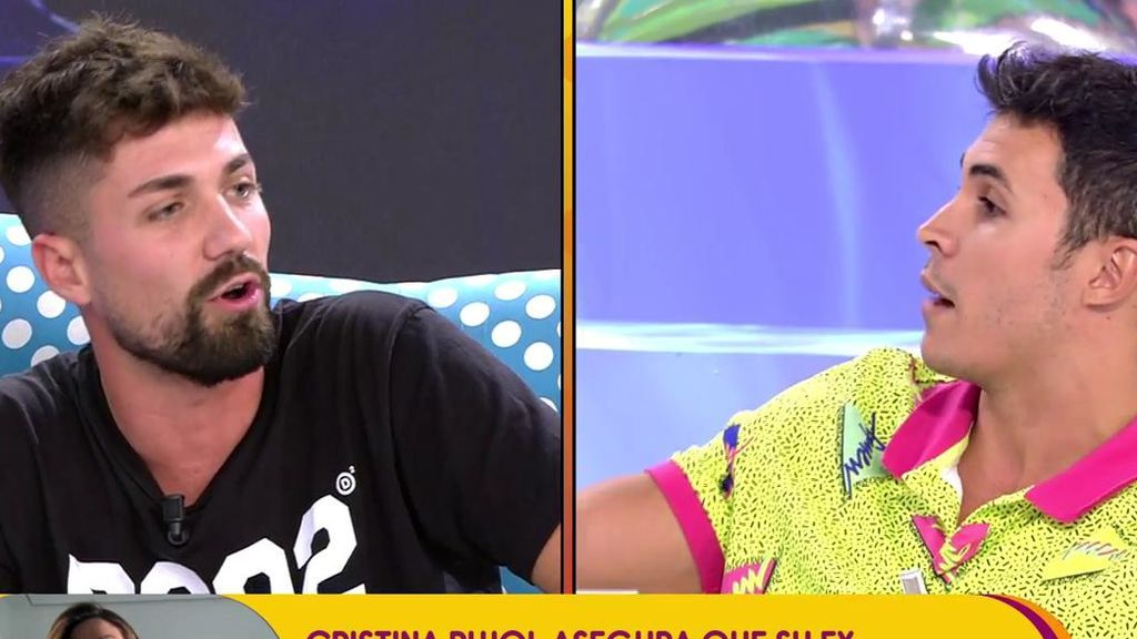 """Albalá: """"Sofía me enseñó mensajes con un futbolista del Madrid"""""""