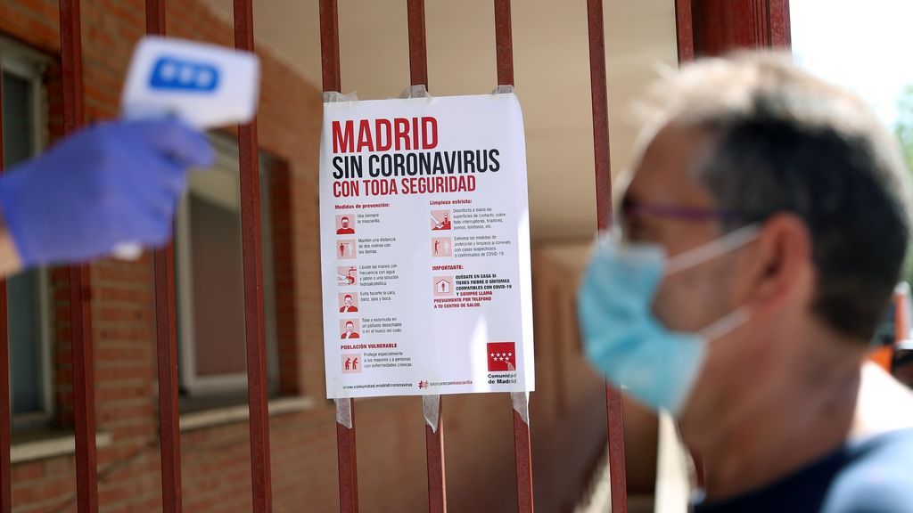 Madrid asciende de nuevo a 937 casos de coronavirus y 17 muertos diarios