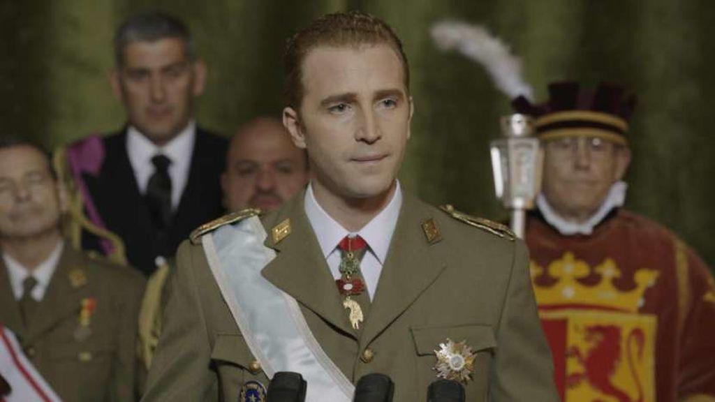 'El Rey', la miniserie sobre la vida de don Juan Carlos, el lunes a las 22:00 horas