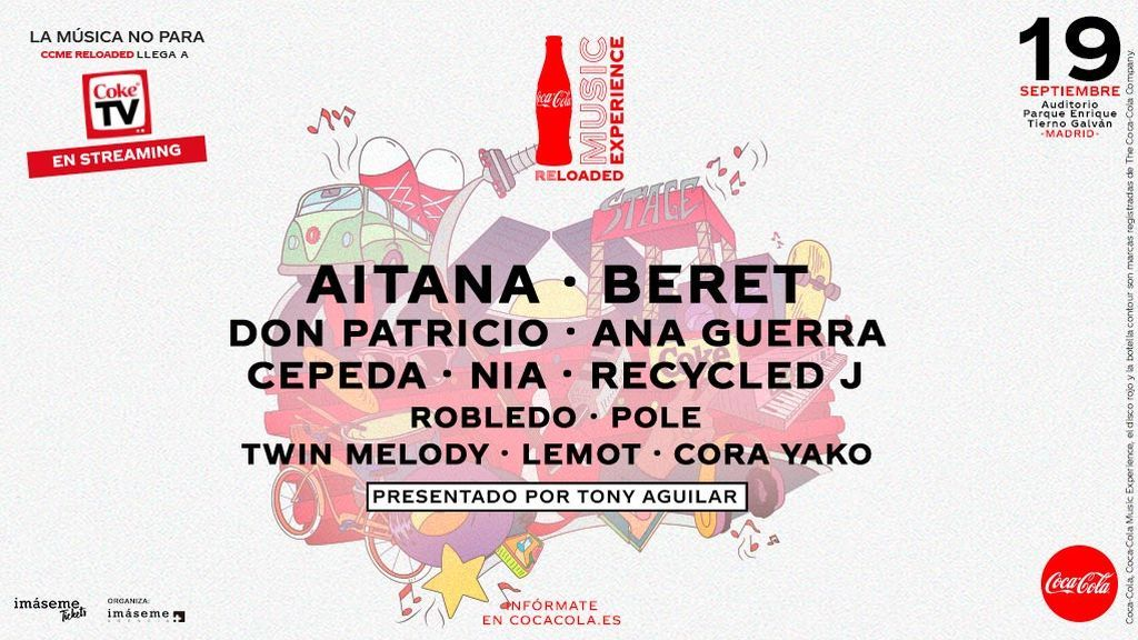 Cartel Coca-Cola Music Experience Reloaded