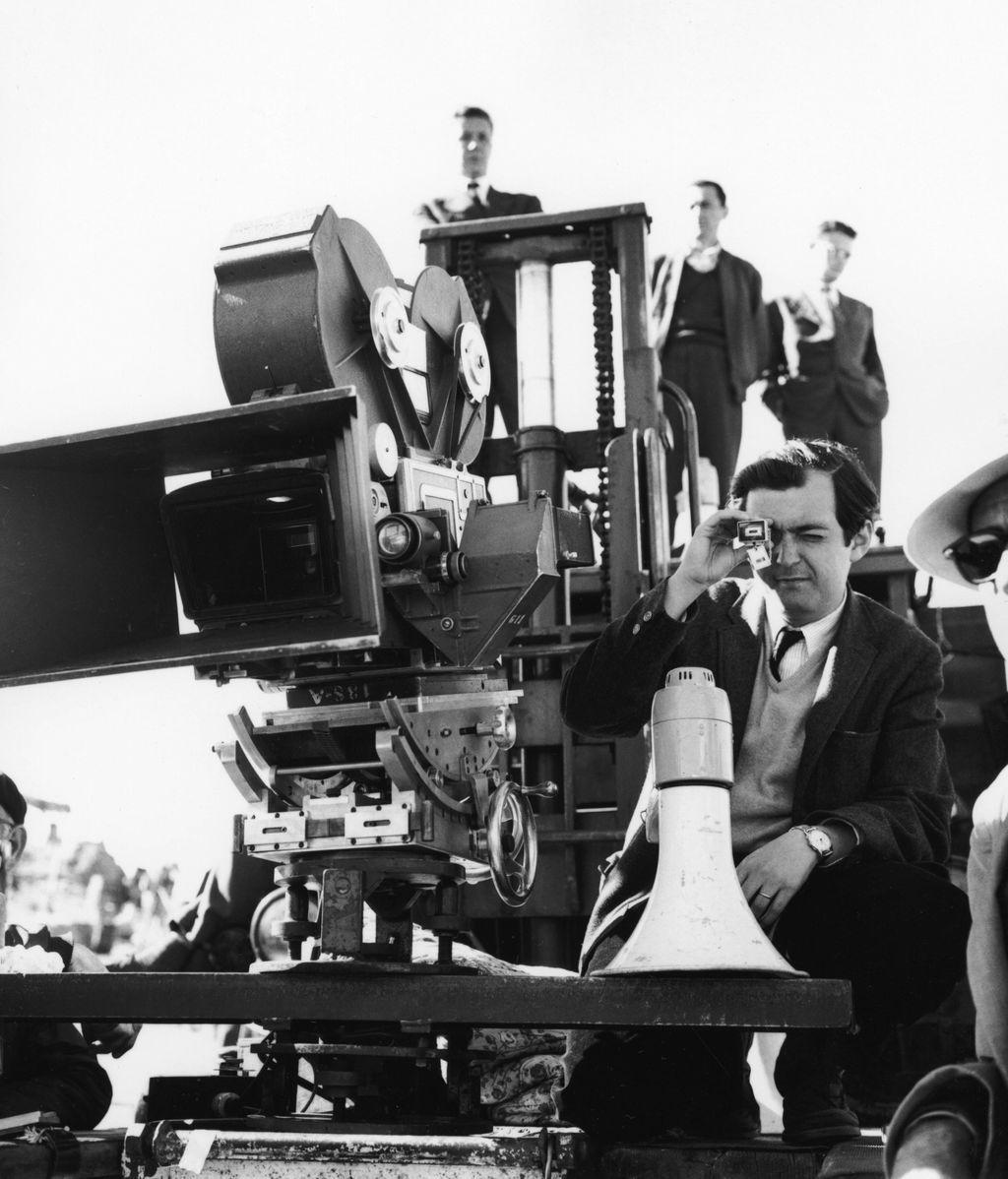 Kubrick en el rodaje de 'Espartaco'