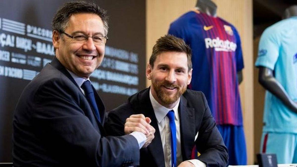 Messi quiere reunirse con Bartomeu para negociar su salida y el Barça se cierra en banda