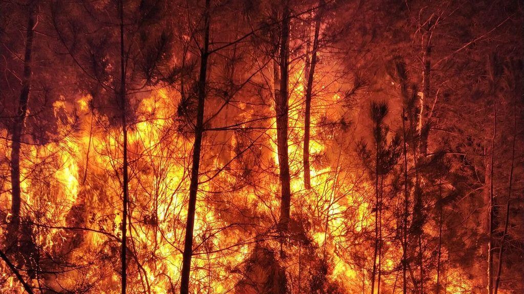 Declaran un incendio en Las Hurdes que obliga al desalojo de dos pedanías