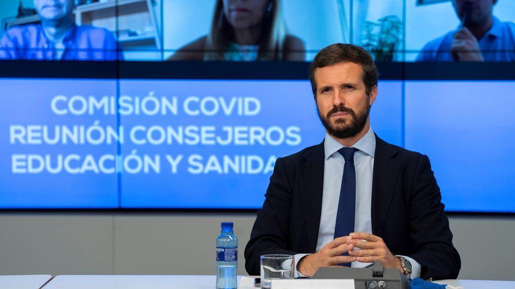 """Casado pide penas de prisión por la """"usurpación"""" de viviendas"""