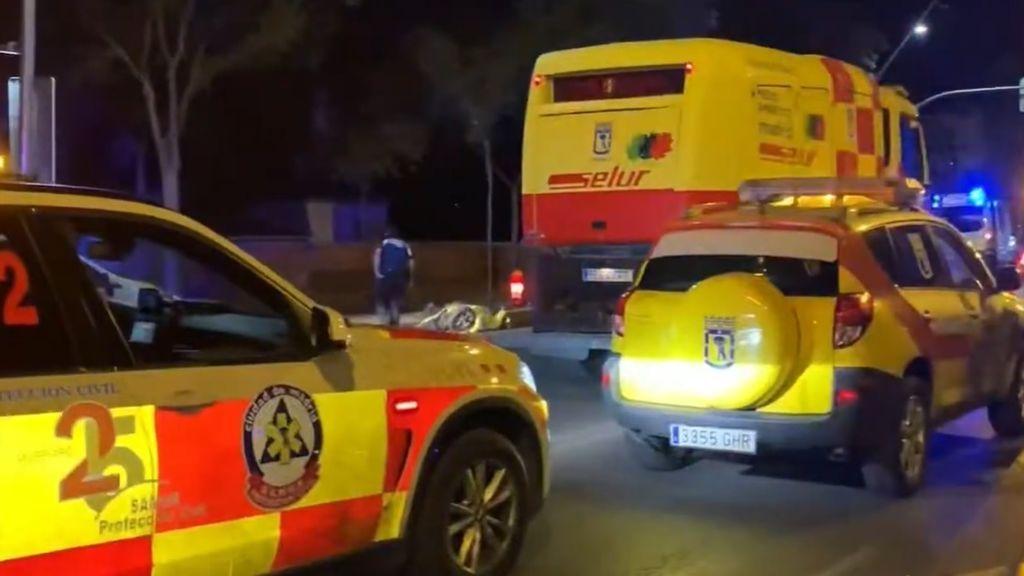 Un atropello múltiple en Madrid deja un fallecido, dos heridos graves y cinco leves