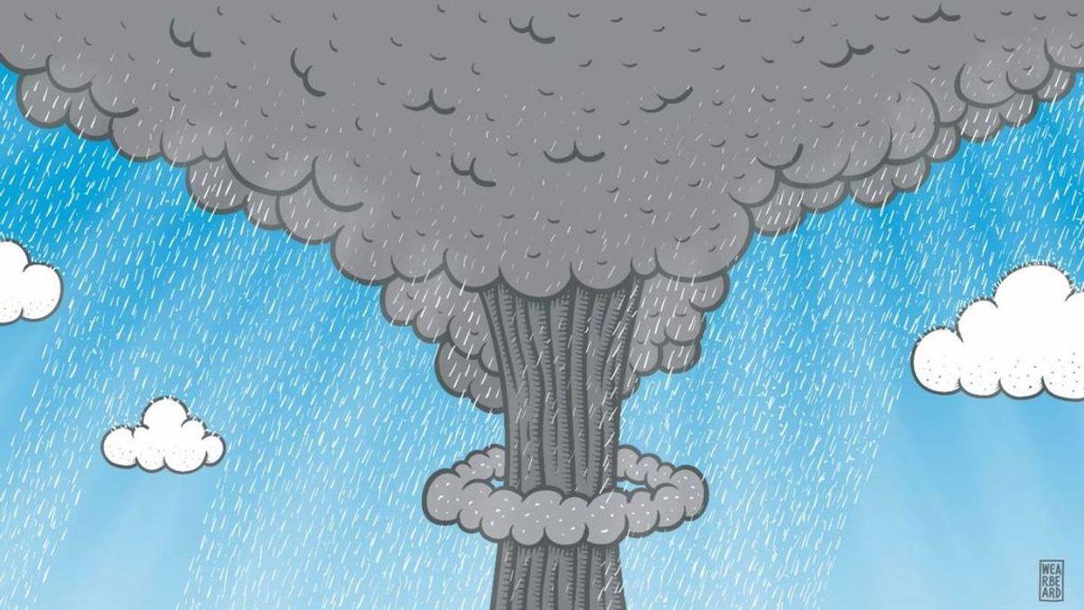 Así han repercutido los ensayos nucleares en la atmósfera