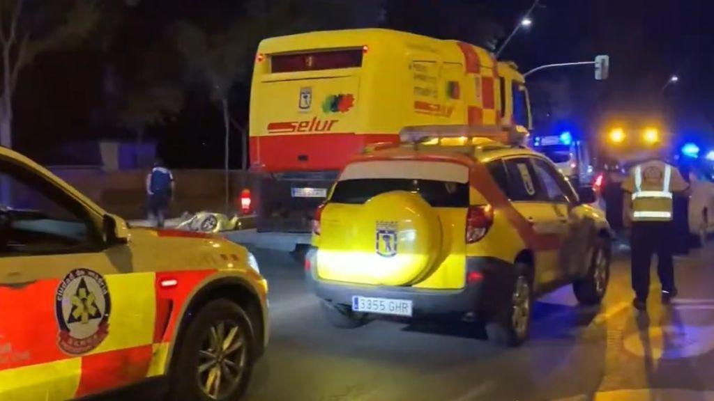 Atropello múltiple en la calle Bravo Murillo de Madrid: hay un fallecido, dos heridos graves y cinco leves