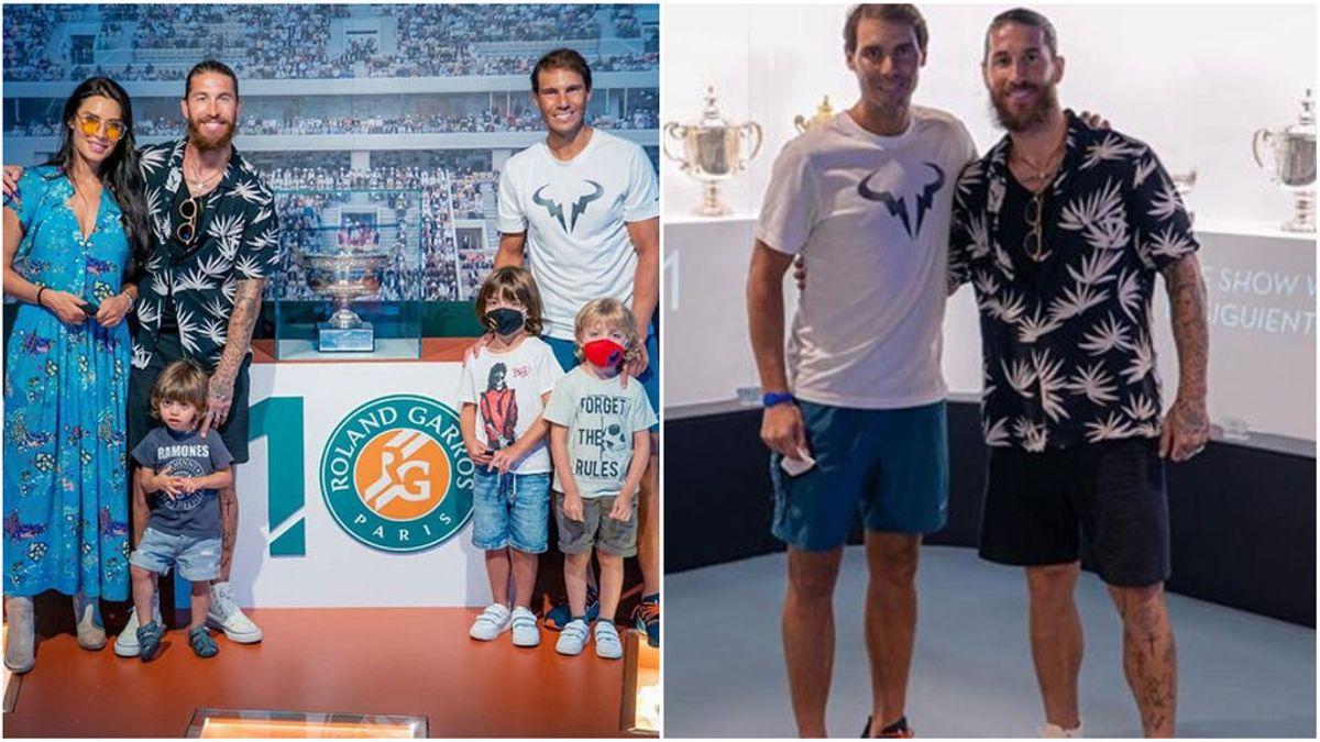 Sergio Ramos descubre las joyas del Real Madrid que esconde Rafa Nadal en su casa de Mallorca: Nadal tiene un auténtico museo madridista
