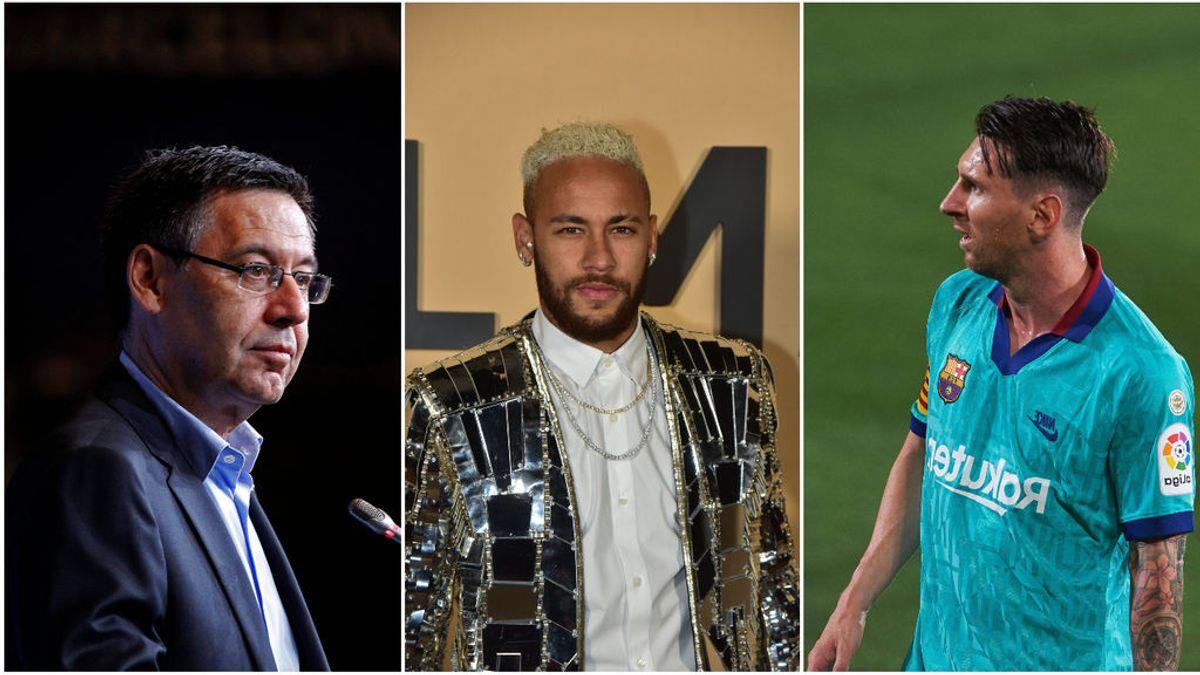 Neymar es el desencadenante de la mala relación entre Messi y Bartomeu