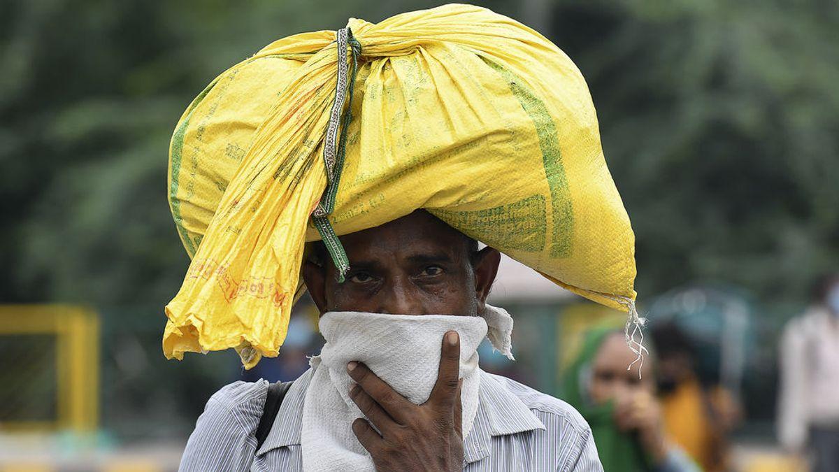 India marca el máximo mundial de contagios en un solo día con 78.761 casos positivos