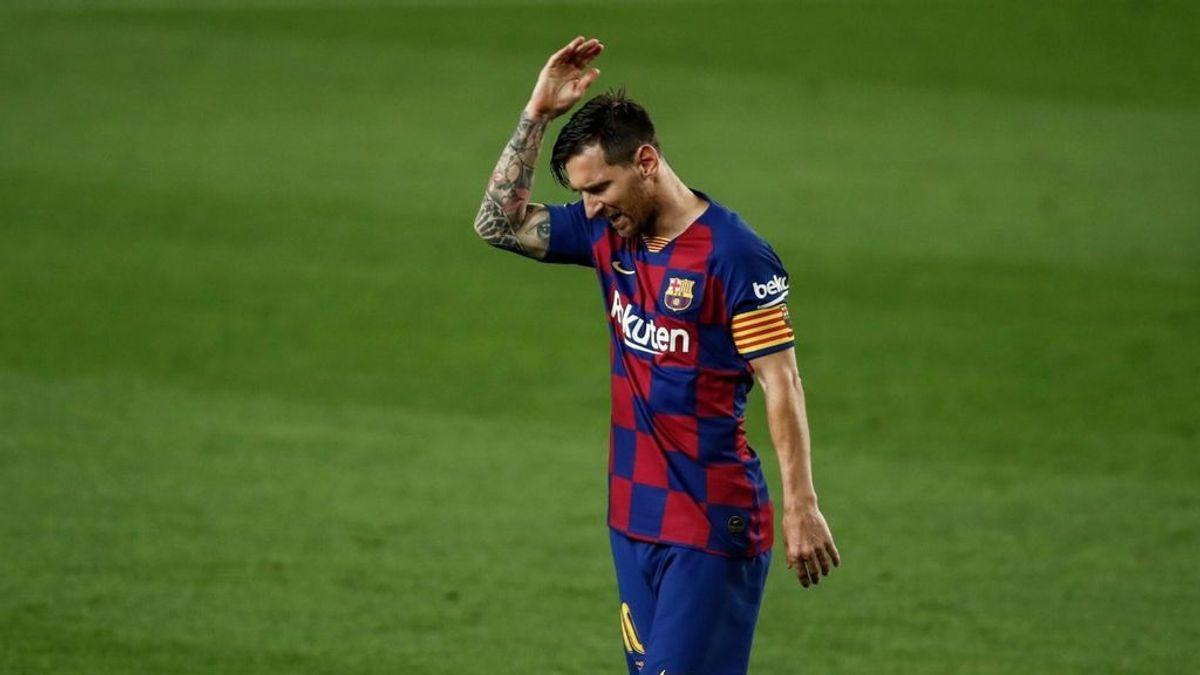 Messi deja clara sus intenciones y no se presenta a las pruebas PCR