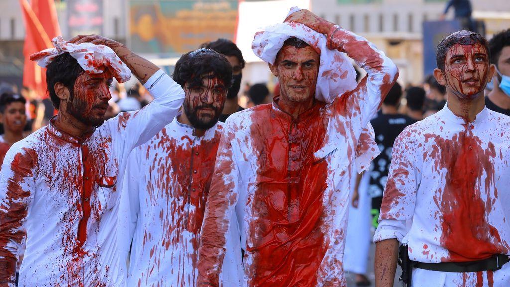 Cientos de miles de iraquíes conmemoran la fiesta de la Ashura a pesar de la pandemia