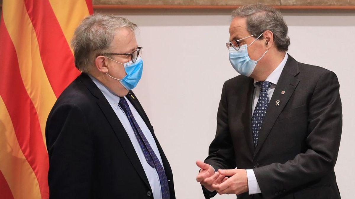 El presidente del Colegio de Médicos de Barcelona pide no convocar concentraciones para la Diada en Cataluña