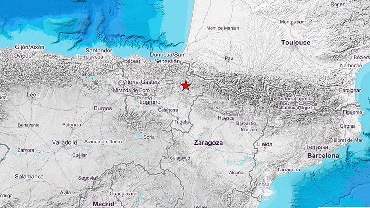 Registrados dos terremotos en Navarra, uno de 4 grados de magnitud