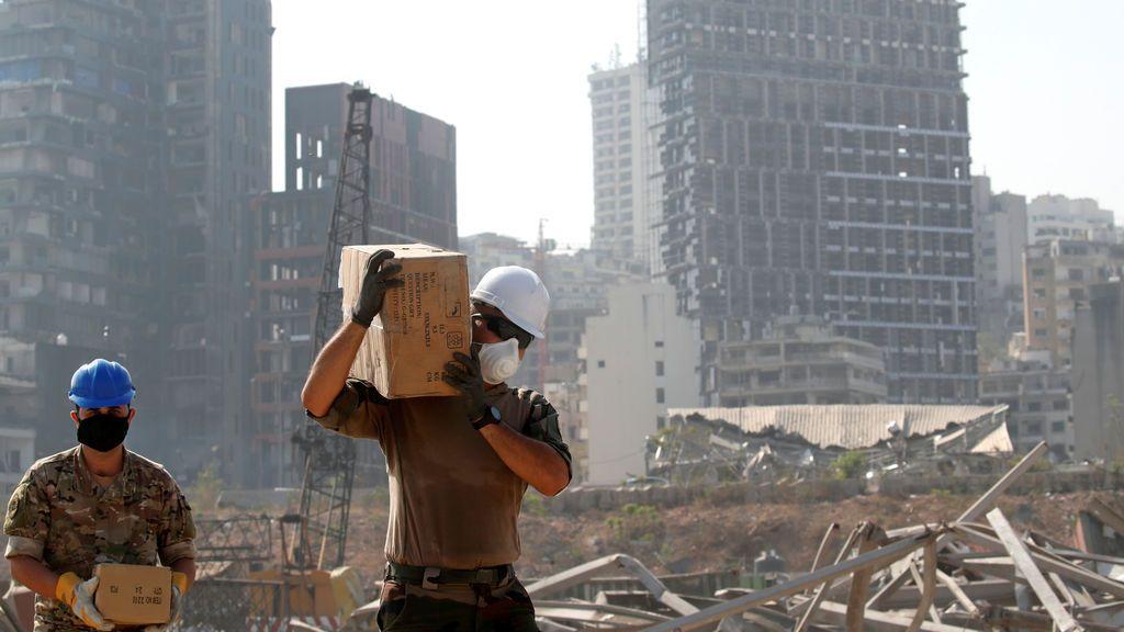 La explosión en Beirut : casi 4.000 millones de euros en daños materiales