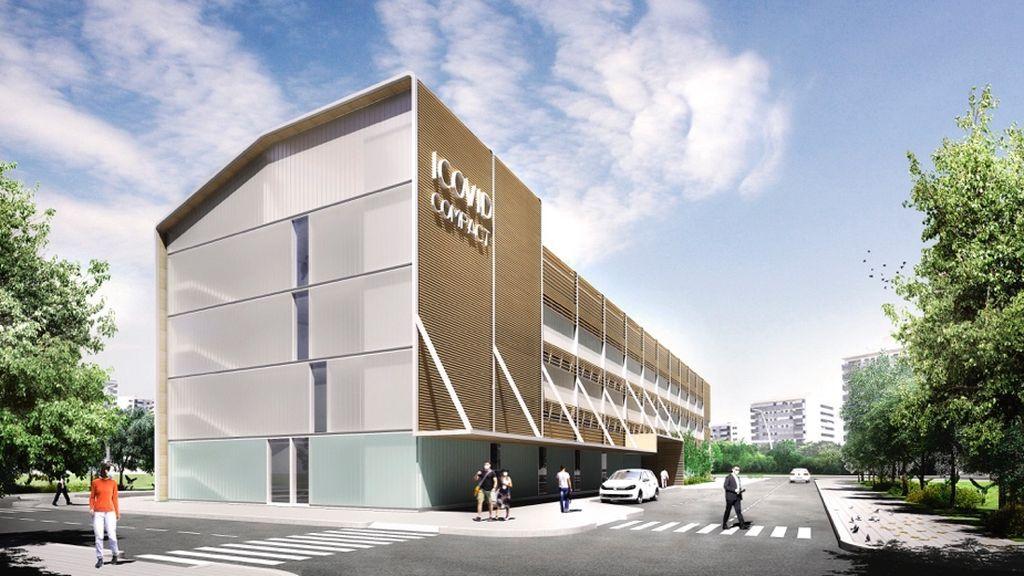 La Generalitat construirá cinco 'hospitales Covid' en Barcelona y Lleida en cuatro meses