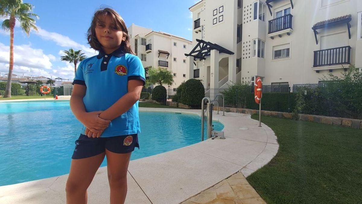 La decisión de Paloma: una niña de Algeciras de nueve años salva a otra de tres de morir ahogada