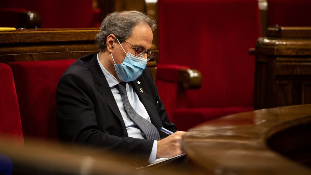 quim torra parlament Marc Brugat  Europa Press