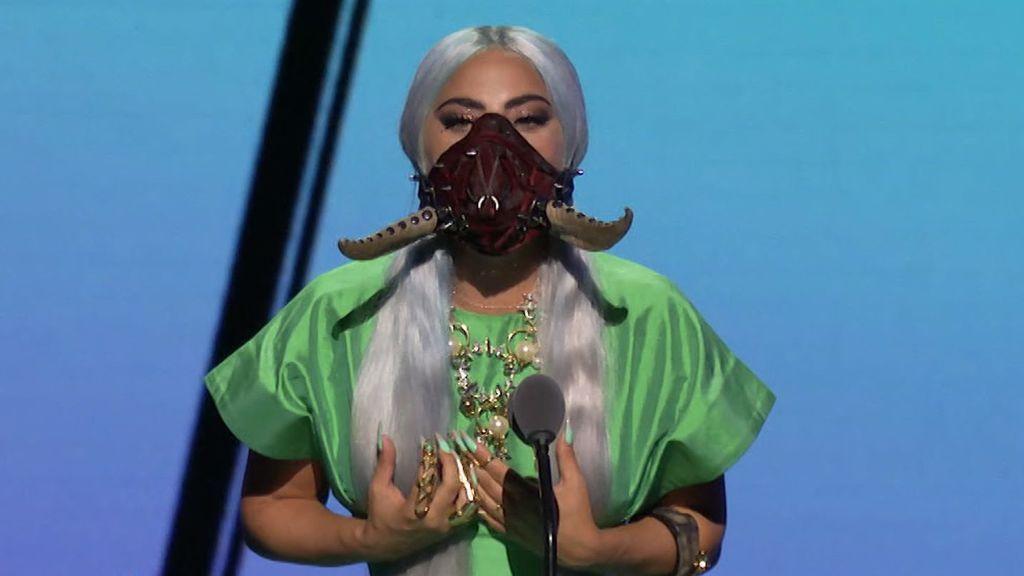Test de los premios MTV video music: hay una mascarilla de Lady Gaga para cada tipo de persona