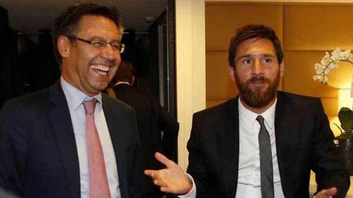 Bartomeu ofrece a Messi renovar por dos temporadas con una cláusula para irse gratis cuando él ya no sea presidente