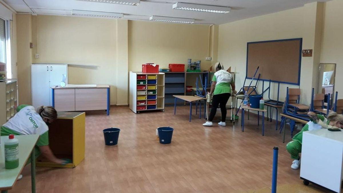 Por qué Madrid abre los colegios con unos datos de contagios similares a cuando los cerró