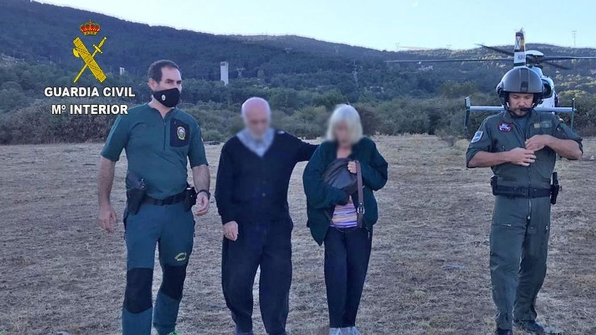 Desaparecidos: la Guardia Civil rescata a dos personas de 83 y 72 años desaparecidas de un centro de mayores
