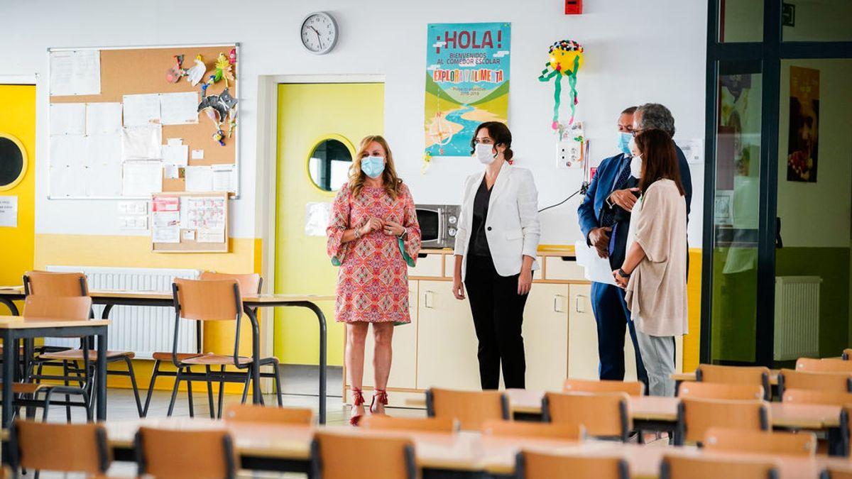 Madrid creará más de 9.000 nuevas plazas educativas públicas entre 2020 y 2021